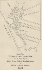 Joseph Ellicott's Plan for the Village of New Amsterdam