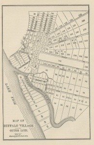 Buffalo Lots in 1805