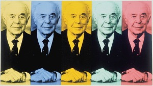Andy Warhol Portrait of Seymour Knox II