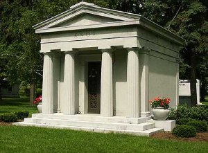 Knox Mausoleum at Forest Lawn