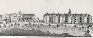 Erie County Almshouse and Insane Asylum (source:  http://www.poorhousestory.com/ERIE.htm)