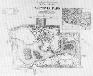 Olmsted's Cazenovia Park Plan