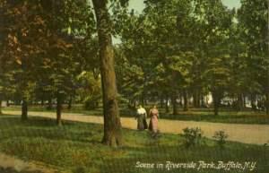 Rvierside Park, about 1910