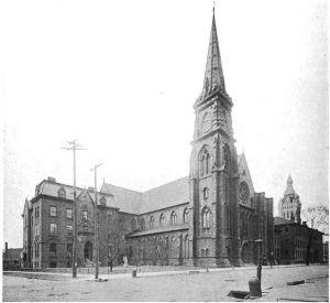 St. Joseph's Cathedral in 1914