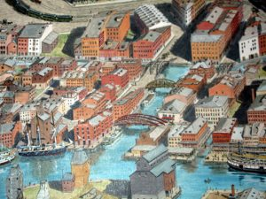 Depiction of the Canal Street Area