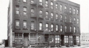 A typical tenement in Dante Place - 42 Fly Street
