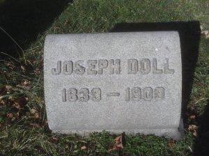 joseph doll grave