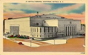 Postcard of Memorial Auditorium