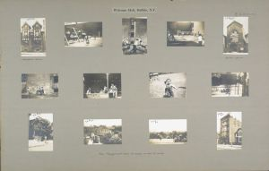 Images from Welcome Hall, one of the settlement houses in Dante Place.   Click here to see in greater detail