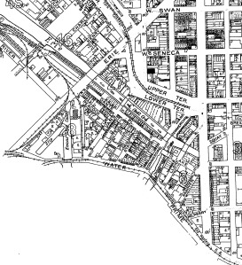1925 Map of the Canal District