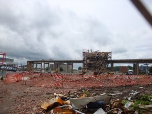 Demolition of the Aud