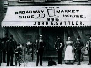 John G. Sattler Shoe Store, 998 Broadway source