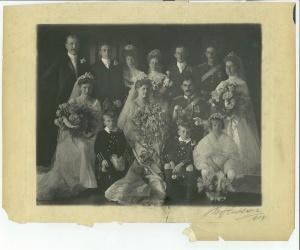 General Bickford and Mary Davidson Wedding, 1904