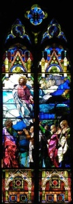 Ascension Window at Trinity Episcopal