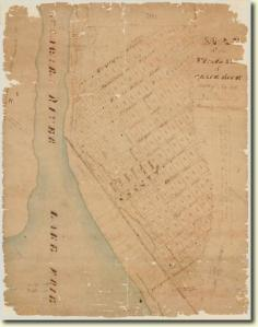 Map of Village of Black Rock, 1816 Source:  New York State Archives