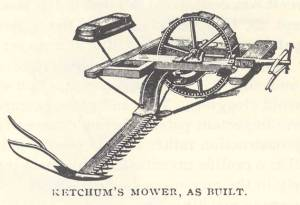 Ketchum Mowing Machine