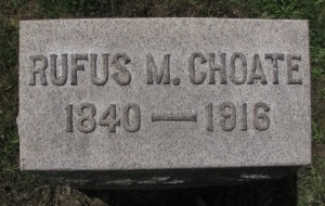 choate grave