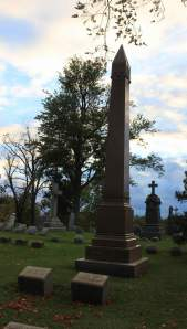 Jewett Grave in Forest Lawn