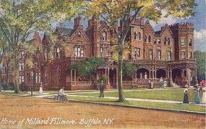 Millard Fillmore House on Niagara Square