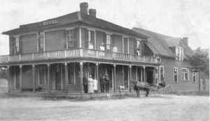 The Lake View Hotel - still stands at 1957 Lake View Road
