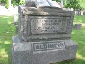Alexander Aldrich's Grave
