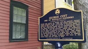 Coit House finally has a historic marker!