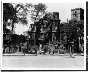 Undated Photo of Cary House at 184 Delaware