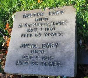 Walter and Julia Grave