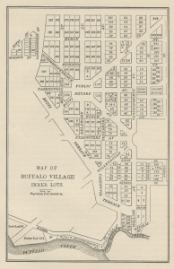 Map Showing the Inner Lots of Buffalo. Source