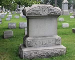 kimmel grave