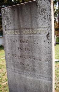samuel abbott grave