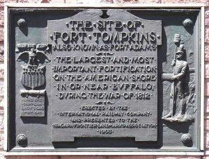fort tompkins sign