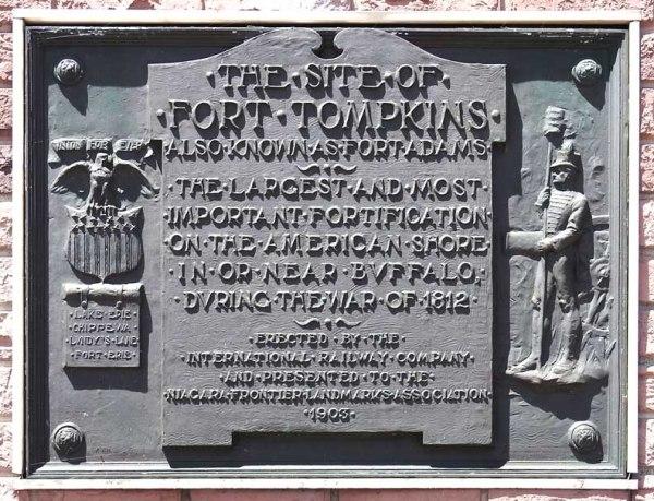 fort tompkins sign