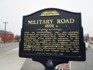 Military Road Marker