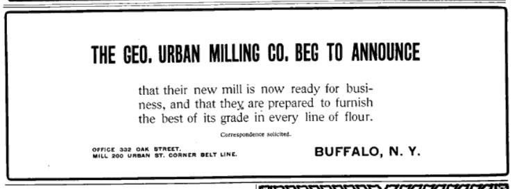 george urban ad 1903