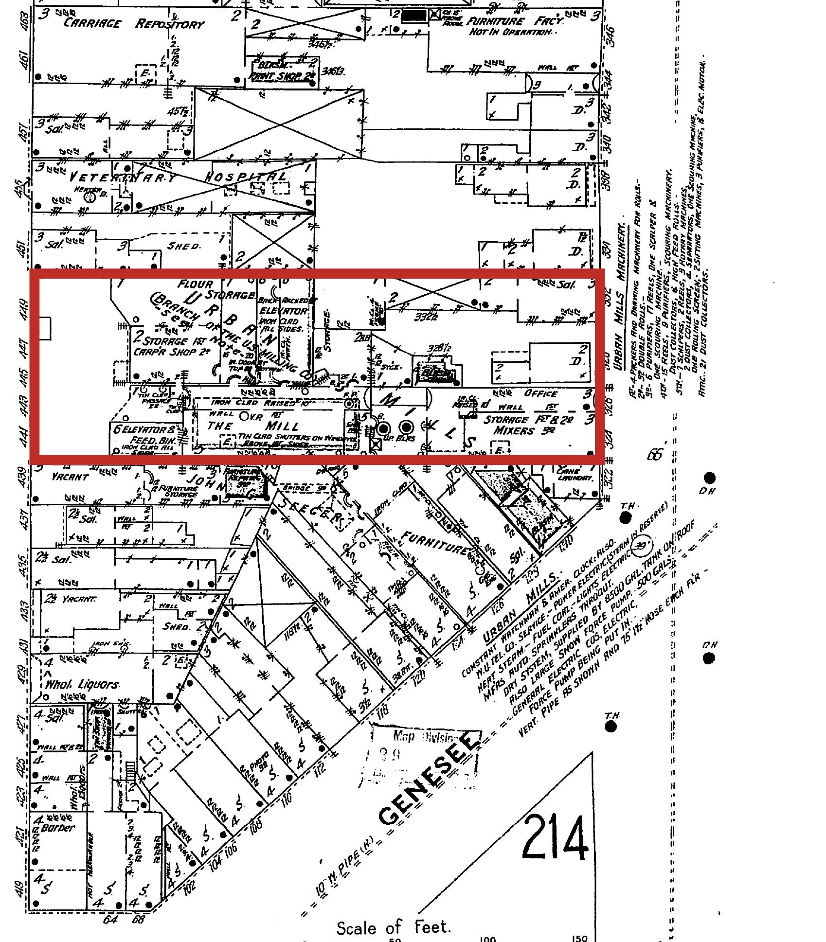 Oak and Genesee 1889